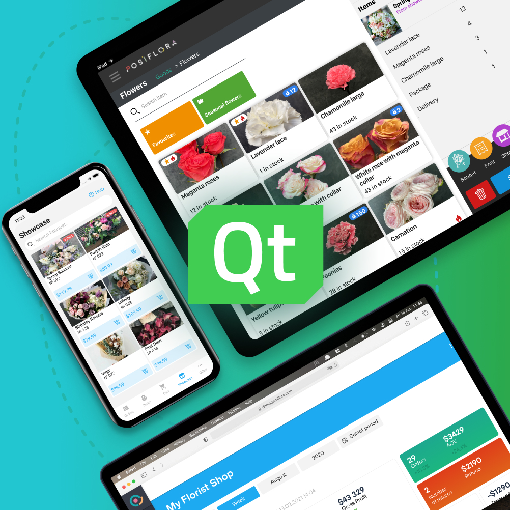 Tasks wesolve with Qt