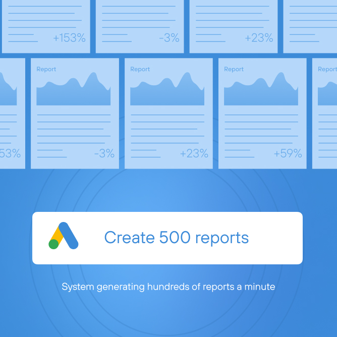 «Before, ittook upto125 hours toprepare reports. Now ittakes just one minute»: Acase about automating Google Ads reports